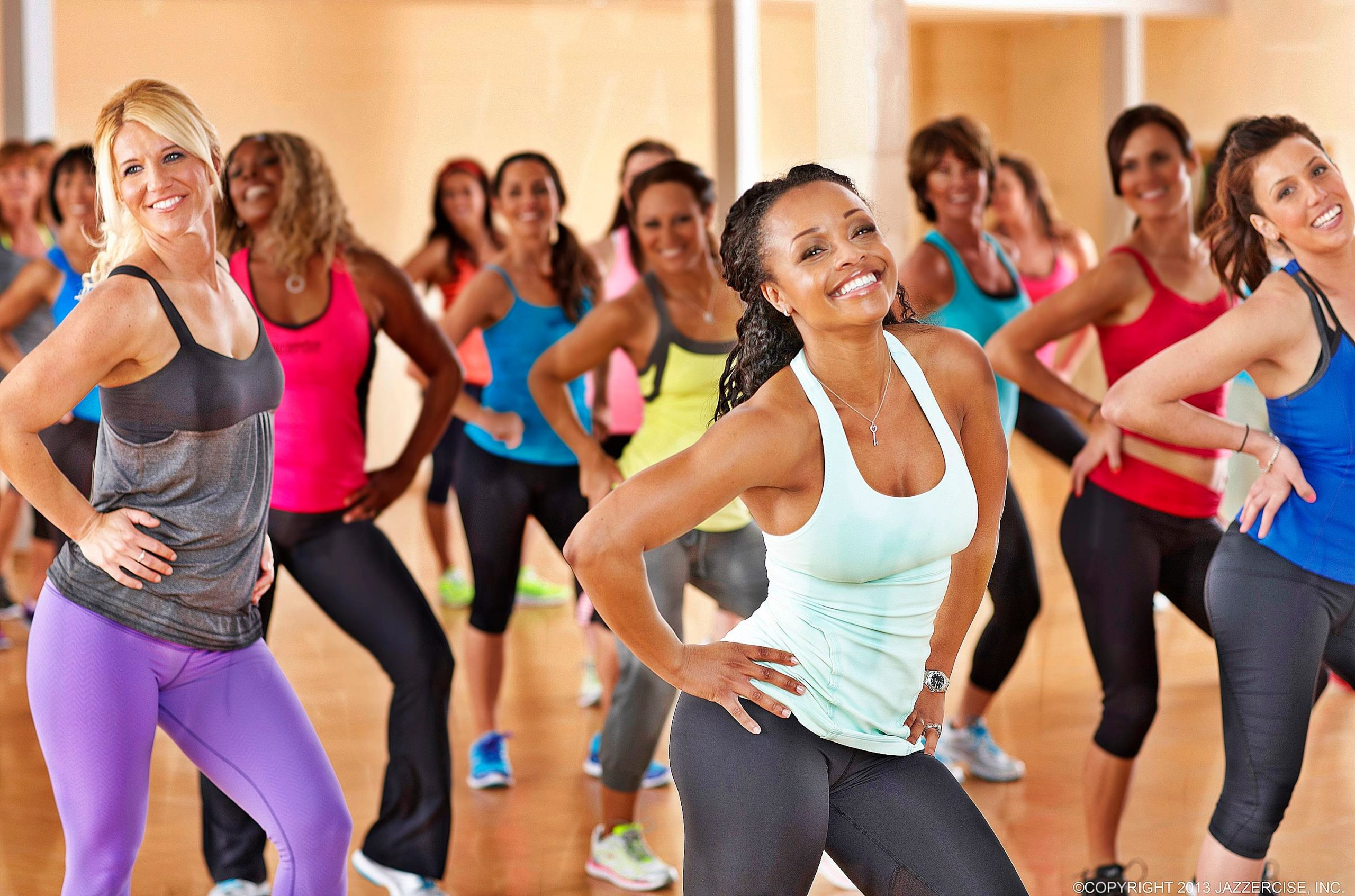 encourages the individual to enjoy the sessions of workout with everyone, make new friends and leave with a happy heart.